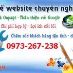 Thiết kế website giá rẻ tại Hà nội chuyên nghiệp chuẩn seo