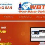 Thiết kế website nhà đất chuẩn seo uy tín giá rẻ chuyên nghiệp