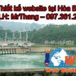 Thiết kế website tại Hòa Bình chuẩn SEO chuyên nghiệp giá rẻ