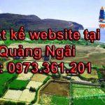 Thiết kế website tại Quảng ngãi giá rẻ chất lượng được đảm bảo hàng đầu