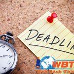 Deadline là gì? Ý nghĩa tác dụng của nó trong công việc là gì