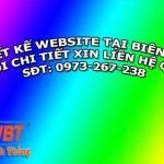 Thiết kế website tại Biên hòa chuyên nghiệp giá rẻ nhất