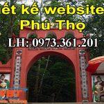 Thiết kế website tại Phú Thọ đảm bảo uy tín + chất lượng hàng đầu.