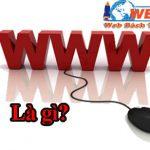 WWW là gì? Khái niệm tổng quan về www, sự khác biệt giữa www và internet.