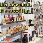Thiết kế website bán nước hoa sang trọng đem lại doanh thu cao