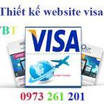 Thiết kế website làm visa chuyên nghiệp chuẩn seo chuẩn di động