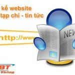 Thiết kế website tin tức chuẩn seo giá rẻ chỉ 2tr500k