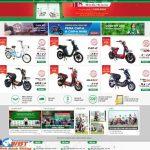Thiết kế website xe đạp điện chuyên nghiệp giá rẻ uy tín