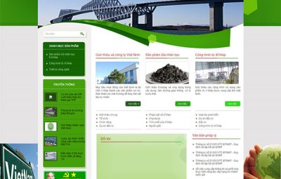 demo thiết kế web tại Game Bách Thắng