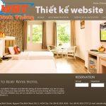 Thiết kế website khách sạn chuyên nghiệp chuẩn seo chuẩn di động