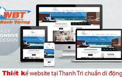 thiết kế website ở thanh trì
