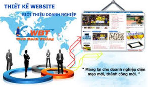 thiết kế website giới thiệu doanh nghiệp
