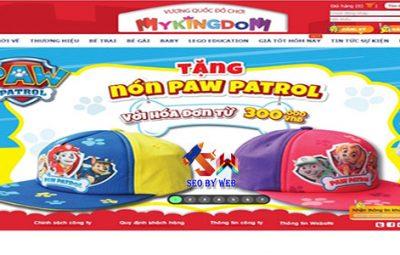 thiết kế website bán đồ chơi