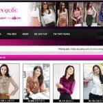 Thiết kế website thời trang -quần áo hiện đại bậc nhất hiện nay
