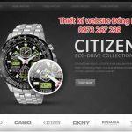 Thiết kế website bán đồng hồ chuyên nghiệp giá tốt nhất