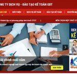 Thiết kế website dịch vụ kế toán chuyên nghiệp giá rẻ nhất hà nội