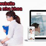 Thiết kế website nha khoa chuyên nghiệp nhất tại Hà Nôi