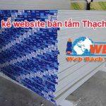 Thiết kế website bán Tấm thạch cao chuẩn seo chuẩn di động