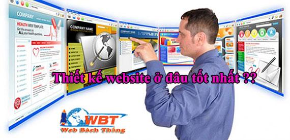 Thiết kế website nên chọn công ty nào