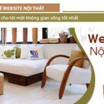Thiết kế website nội thất chuyên nghiệp giá chỉ từ 2,5 triệu vnđ