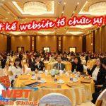 Thiết kế website tổ chức sự kiện- tổ chức event chuyên nghiệp