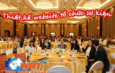 Thiết kế website tổ chức sự kiện