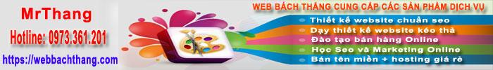 Banner quảng cáo web bách Thắng