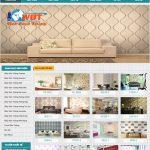 Thiết kế website bán giấy dán tường chuyên nghiệp giá tốt