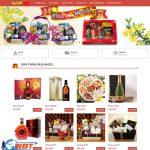 Thiết kế website buôn bán hàng tết – bánh kẹo – Mứt tết nhanh