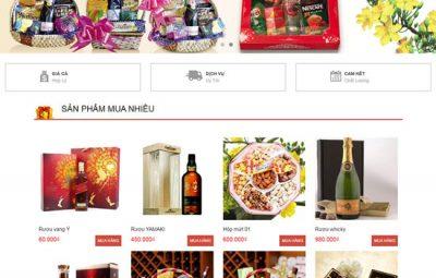 Thiết kế website bán hàng tết