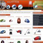 Thiết kế website bán máy hút bụi giá rẻ chuẩn seo
