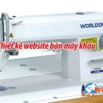 Thiết kế website bán máy may – bán đồ may giá rẻ