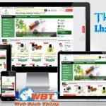 Thiết kế website bán tinh dầu trọn gói giá rẻ uy tín nhất