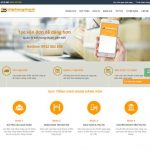 Thiết kế website vận chuyển hàng hóa uy tín nhanh