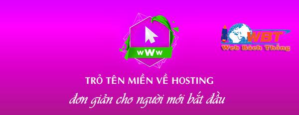 Hướng dẫn trỏ tên miền về hosting nhanh và đơn giản nhất