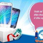 Thiết kế website bán điện thoại di động giá rẻ chuyên nghiệp