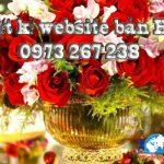 Thiết kế website bán hoa shop bán hoa online giá rẻ