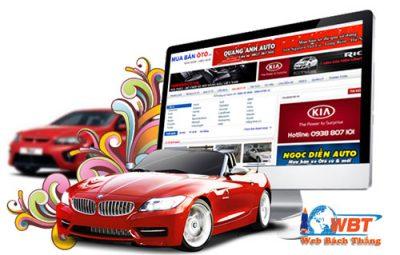 Thiết kế website dịch vụ thuê xe ô tô xe máy xe du lịch