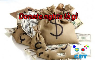 Nghĩa của Donate là gì