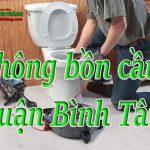 Thông bồn cầu quận Bình Tân giá rẻ, uy tín nhiều năm, phục vụ 24/24h