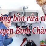 Thông bồn rửa chén huyện Bình Chánh giá rẻ, uy tín, thợ giỏi chuyên nghiệp.