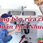 Thông bồn rửa chén quận Phú Nhuận uy tín, giá rẻ, xử lý  triệt để
