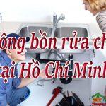 Thông bồn rửa chén tại Hồ Chí Minh giá rẻ, uy tín, sạch triệt để, phục vụ 24/24h