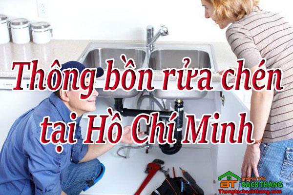 Thông bồn rửa chén tại Hồ Chí Minh bách Thắng