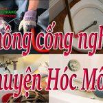 Thông cống nghẹt huyện Hóc Môn giá rẻ, uy tín, thợ giỏi chuyên nghiệp