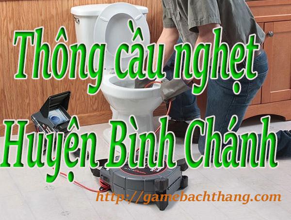 Thông cầu nghẹt tại Huyện Bình Chánh giá rẻ bt game