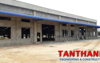 Thiết kế nhà xưởng công nghiệp bằng công nghệ khung thép Tiền chế