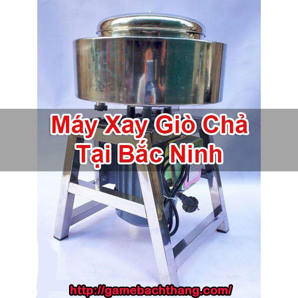 Máy Xay Giò Chả Tại Bắc Ninh