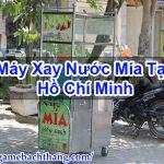 Máy Xay Nước Mía Tại Hồ Chí Minh Chất Lượng Tốt – Game BT