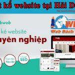 Thiết kế website tại Hải Dương chuẩn seo uy tín giá rẻ